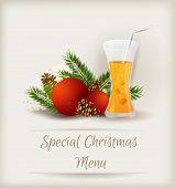 Special Christmas Menu Template