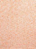 White-and-orange Melange Knitted Pattern