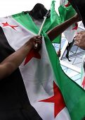 Free Syria, Syrian Flags