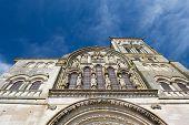 French church basilique de Saint Madeleine in Vezelay