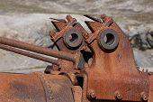 Rusty Machine in New London, Svalbard