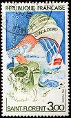 Corsica Stamp