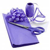 Purple Gift Wrap