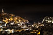 Matera Sassi by night