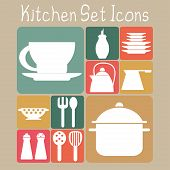 Kitchen Set Icons