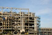 image of lng  - Liquefied natural gas Refinery Factory with LNG storage tank using for Oil and gas industry - JPG