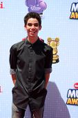 LOS ANGELES - APR 26:  Cameron Boyce at the 2014 Radio Disney Music Awards at Nokia Theater on April