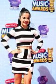 LOS ANGELES - APR 26:  Becky G at the 2014 Radio Disney Music Awards at Nokia Theater on April 26, 2014 in Los Angeles, CA
