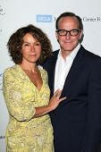 LOS ANGELES - APR 25:  Jennifer Grey, Clark Gregg at the 19th Annual