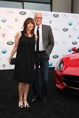 LOS ANGELES - APR 25:  Mary Steenburgen, Ted Danson at the 2014 LA Modernism Show Opening Night at 3