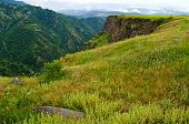 picture of armenia  - spring in the mountains of Armenia - JPG