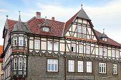 Old Fachwerk house in Goslar.