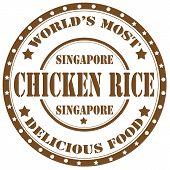 Chicken Rice-stamp