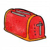 cartoon toaster
