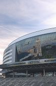 Minsk, Bealarus - April, 26: Minsk-arena Ice-hockey Sport Complex Built For Carrying Out World Ice-h