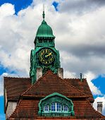 The Art Nouveau Spa House in Bad Nauheim, Germany