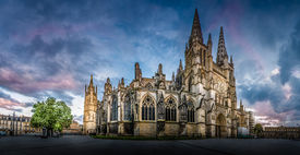 picture of bordeaux  - Bordeaux Cathedral  - JPG