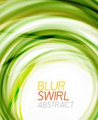 Business color swirl minimal design template. Techno, business card, presentation or brochure abstra