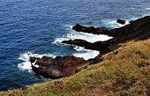 Volcanic Formation In Ocean