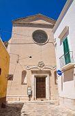 Church of Rosary. Fasano. Puglia. Southern Italy.