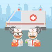 medicine doctor ambulance