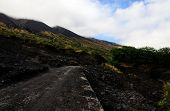 Traversing A Volcanic  Mountain