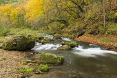 Whitewater River In Autumn