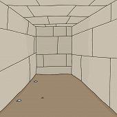 Empty Dungeon Room