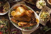 Whole Homemade Thanksgiving Turkey