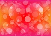 Abstract  Light Heart Background