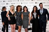 LOS ANGELES - OCT 15:  Vanessa Marcil, Crystal Hunt, Chrystee Pharris, Hunter Tylo, Lindsay Hartley at the Sue Wong