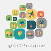 Logistic And Packing Icon