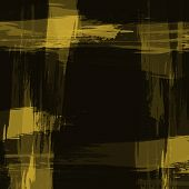 Abstract Grunge Texture Old Yellow Background