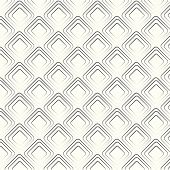 Vector Seamless Pattern Geometric Tiles Rhombus Background