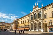 Renaissance Buildings At The Piazza Signiori In Vicenza