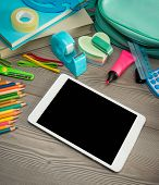 Back To School With Digital Tablet