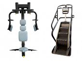 gym apparatus under te white background