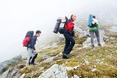 Alpine trekking - harsh conditions