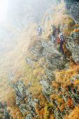 Alpine trekking - harsh conditions