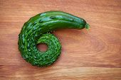 Curling Cucumber