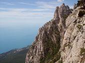 Mountains, rocks, Black sea, Ai-Petri