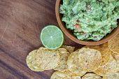 Guacamole Corn Chips