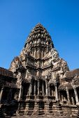 The Ancient Ruins Of A Historic Khmer Temple In The Temple Complex Of Angkor Wat In Cambodia