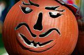 Bowl Made As A Halloween Pumpkin