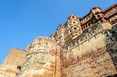 Different Parts Of Mehrangarh Fort, Rajasthan, Jodhpur, India