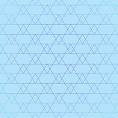 Repeating geometric tiles with triangles. Vector seamless pattern