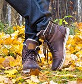 Autumn Leather Boots