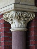 Detail Town Hall Columns