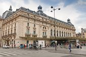 Entrance To The Orsay Museum In Paris, France