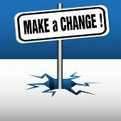 Make a change plate